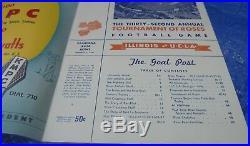 Rose Bowl Game Program UCLA Bruins vs. Illinois January 1 1947 VTG Football NCAA
