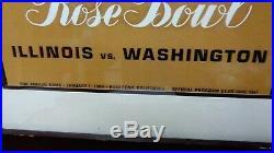 Rose Bowl Illinois Vs Washington Golden Anniversary 50th Annual Game