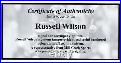 Russell Wilson Autographed Framed Seahawks Super Bowl Program Rw Holo 158297