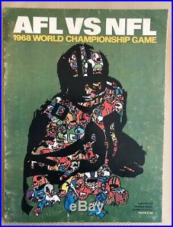 SUPER BOWL II 2 1968 OFFICIAL GAME PROGRAM, Packers Raiders