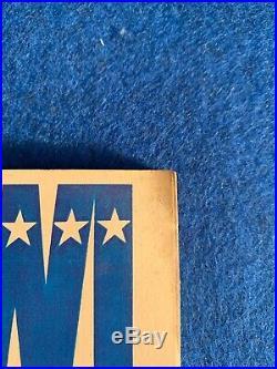 SUPER BOWL III Game Program 1969 WORLD CHAMPIONSHIP AFL/NFL Jets vs. Colts