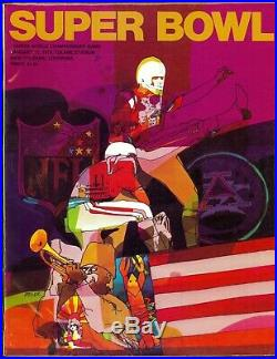 SUPER BOWL IV GAME PROGRAM KANSAS CITY CHIEFS vs. MINNESOTA VIKINGS (NM) 1970