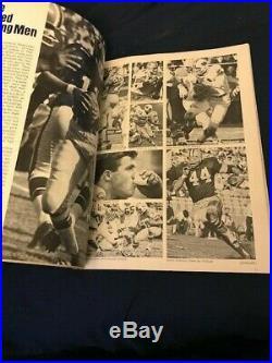 SUPER BOWL SB I AFL NFL Green Bay Packers Kansas City Chiefs FIRST PROGRAM 1967
