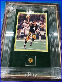 Signed Brett Farve Super Bowl 31 Picture 100% AUTHENTIC