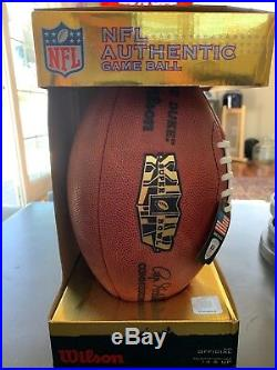 Super Bowl 45 Authentic Game Ball. New Orleans Saints vs Indianapolis Colts