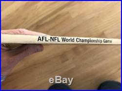 Super Bowl I Program Packers vs Chiefs Excellent Condition