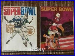 Super Bowl I-XIV Programs (1967-1980) High Grade for all 14, (Excellent Overall)