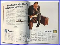 Super Bowl II 2 1968 World Championship Game Program Raiders Packers EX+