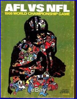 Super Bowl II 2 Program Green Bay Packers v Oakland Raiders 1968 Miami 52312