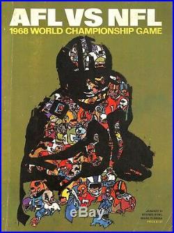 Super Bowl II 2 Program Packers Bart Starr Back To Back Sb Mvp Champions