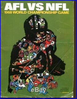 Super Bowl II Program Packers v Raiders 1/14/1968 Bart Starr MVP VG 54638