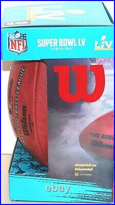 Super Bowl LV (55) Kc Chiefs & Tb Buccaneers Official Wilson Game Football