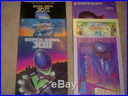 Super Bowl Program Collection Including Super Bowl I