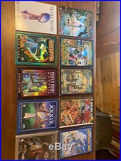 Super Bowl Program Complete Set