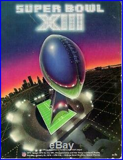 Super Bowl Programs! XI XII XIII XIV XVI XVII XVIII XIX XX XXI XXII XXIII MORE