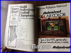 Super Bowl V 1971 Program World Football Championship Baltimore vs Dallas