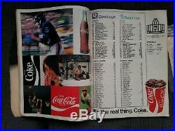 Super Bowl VI Original Program 1972 Cowboys Dolphins Tulane Nice Superbowl