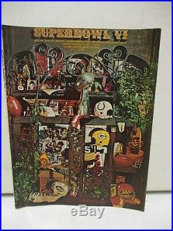 Super Bowl VI Program