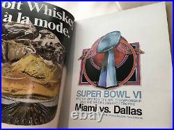 Super Bowl VI Program 1972 Miami v Dallas Cowboys Clean Top Copy Make Offer Now