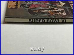 Super Bowl VI Program 1972 Miami vs Dallas Cowboys EX+ condition