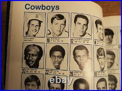 Super Bowl VI Program Cowboys Beat Dolphins For 1st SB Win Very Nice Condition