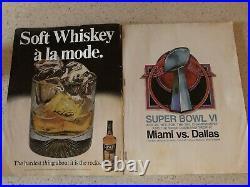 Super Bowl VI Program Cowboys v Dolphins January 16, 1972 Tulane Stad Excell