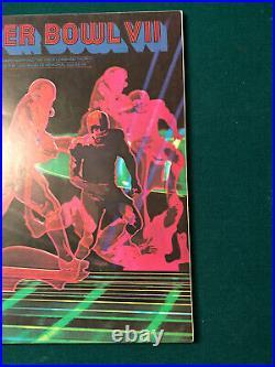 Super Bowl VII 1972 Miami Dolphins Washington Redskins NFL Original Game Program
