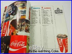 Super Bowl VII Game Program Dolphins / Redskins Los Angeles Coliseum 1973
