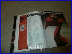 Super Bowl VIII Program 1/13/1974 Minnesota Vikings/miami Dolphins Texas Nmint