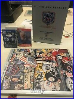 Super Bowl XXV Giants V Bills Items Program, Unused Holgraphic Ticket, Cards