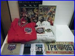 Super Bowl XXV Lot, 2 Tickets, Jacket, Sweatshirt, Cards, Tag, Program, +, Vtg