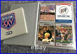 Super Bowl XXV NFL Football, GTE Seat Cushion, Official Game Program, Cards