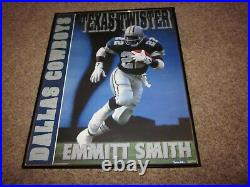 Super Bowl XXX Champs 1996 Dallas Cowboys Starline Poster withEmmitt Aikman Deion