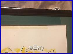 Super Bowl XXXI Artist Signed & numbered #156 Of 1997 Green Bay vs. Patriots