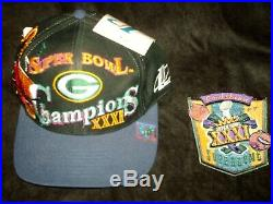 Super Bowl XXXI Items/ BRETT FAVRE Signed/ Green Bay Packers