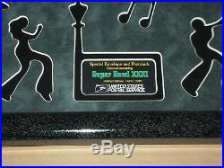 Super Bowl XXXI Packers Patriots Postal Service Limited Edition Framed Envelope