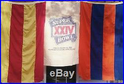 Super Bowl XXlV Bunting