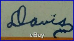 Syracuse Football National Champion, Cotton Bowl Poster Team Auto, Ernie Davis