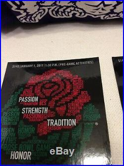 TCU Rose Bowl 97th ROSE BOWL GAME 2011/TCU & Wisconsin/Football Game Tickets/2