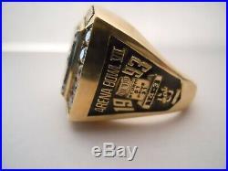 Tampa Bay Storm 1993 Arena Bowl VII Ring