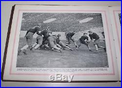 The Will To Win 1926 Rose Bowl Pictorial Alabama vs Washington Champ Pickens