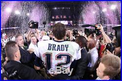 Tom Brady New England Patriots Autographed Super Bowl LI Program JSA