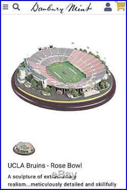 UCLA Bruins Rose Bowl Football Stadium by Danbury Mint NEW IN BOX