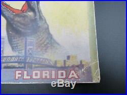 University of Tulsa Vs University of Florida 1953 Gator Bowl Football Program