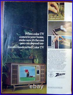 Vince Lombardi Autographed 1969 Super Bowl Program Packers PSA/DNA AB04669