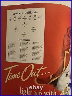Vintage 1940 Rose Bowl Tennessee vs USC Trojans Football Program