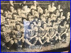 Vintage 1942 Missouri Tigers Football Team Photo Sugar Bowl One Of A Kind