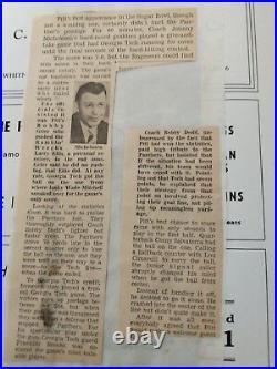 Vintage 1956 GEORGIA TECH VS PITTSBURGH PANTHERS SUGAR BOWL Football Program