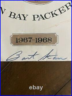 Vintage 1968 Bart Star Quarterback Signed Autograph Green Bay Packers Ice Bowl