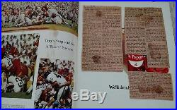 Vintage 1969 OHIO STATE VS USC ROSE BOWL Football Program RARE NATIONAL CHAMPS